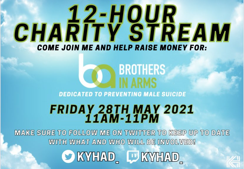 charity stream banner